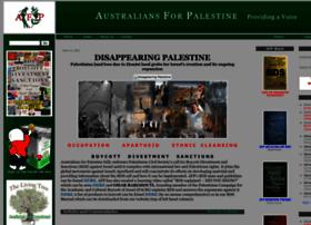 australiansforpalestine.com