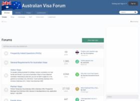 australianvisaforum.com