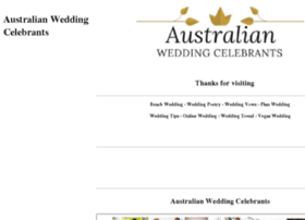 australianweddingcelebrants.com.au