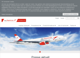 austrianairlines.ag