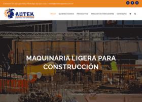 autekmaquinaria.com.mx