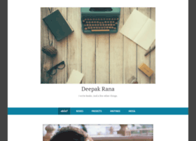 authordeepakrana.com