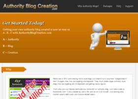 authorityblogcreation.com