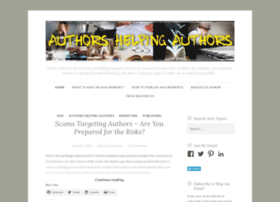 Authorshelpingauthors.wordpress.com