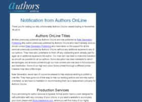 authorsonline.co.uk