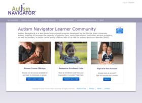 autismnavigator.learnercommunity.com