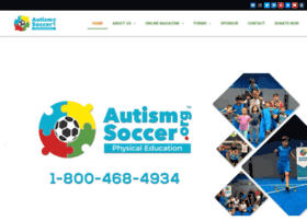 autismsoccer.org