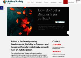autismsocietyoregon.org