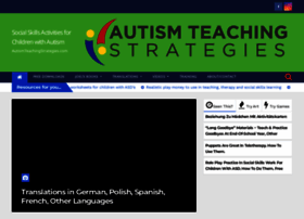 autismteachingstrategies.com