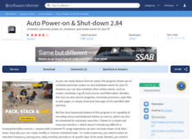 auto-power-on-shut-down.software.informer.com