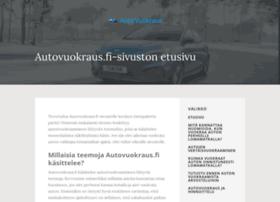 auto-vuokraus.fi