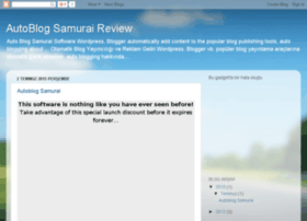 autoblogsamurairreview.blogspot.com.tr