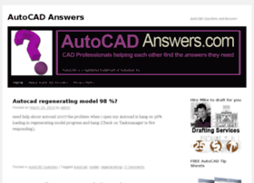 autocadanswers.com