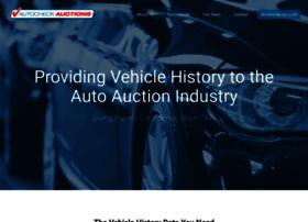 autocheckauctions.com