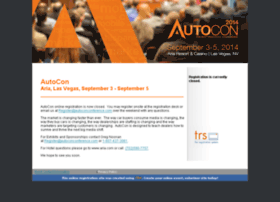 autocon2014.theregistrationsystem.com