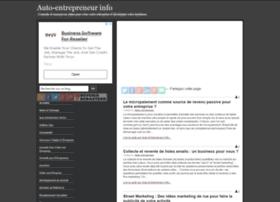 autoentrepreneurinfo.com