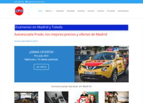 autoescuelaprado.es