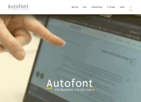 autofont.com