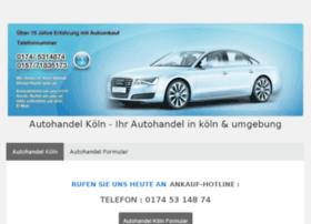 autohandel-koeln.jimdo.com