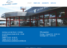 autohaus-vandenboom-schilder.de