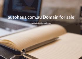 autohaus.com.au