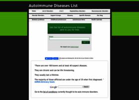 autoimmunediseaselist.com