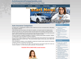 autoinsurancecomparison2u.com