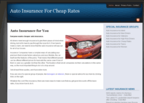 autoinsurancefor.org