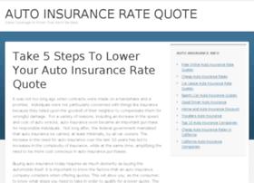 autoinsuranceratequote.org