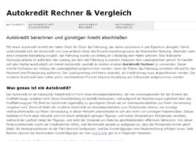 autokredit-sofort.org