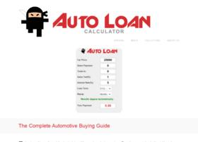 autoloancalculator.org