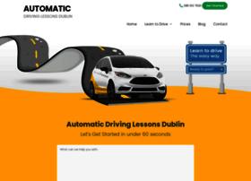 automaticdrivinglessonsdublin.ie