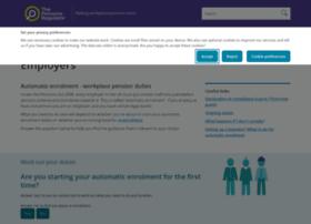 automation.thepensionsregulator.gov.uk