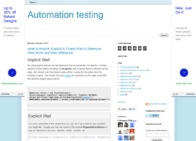 automationtricks.blogspot.in