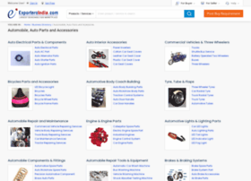automobile.exportersindia.com