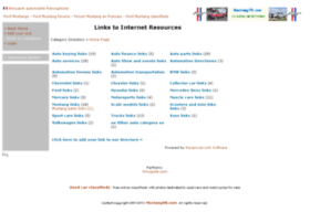 automotive-links.mustangv8.com