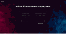 automotiveinsurancecompany.com