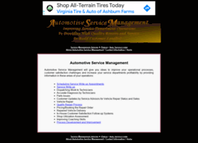 automotiveservicemanagement.com