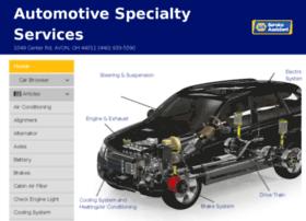 automotivespecialtyservices.mynapatools.com
