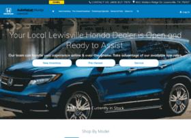 autonationhondalewisville.com