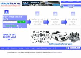 autopartfinder.ae