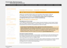 autoradio-zimmermann.de