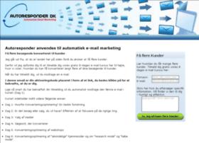 autoresponder.dk