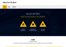 autorijschooldeboer.nl
