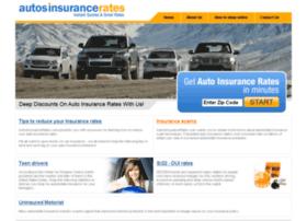 autosinsurancerates.com