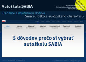 autoskola-sabia.sk