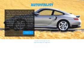 autovinpage.com