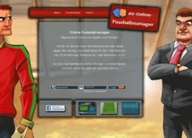 av-onlinefussballmanager.de