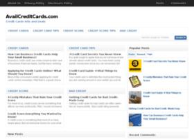 availcreditcards.com