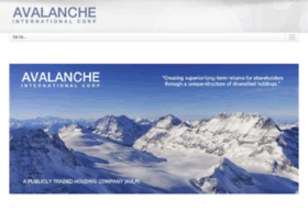 avalancheinternationalcorp.com